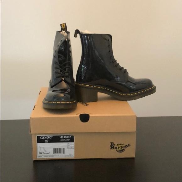 fdbdb1cd4e7 Dr. Martens Shoes | Dr Martens Clemency Heeled Boot | Poshmark